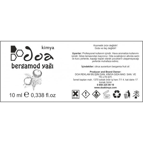 Bergamot Yağı